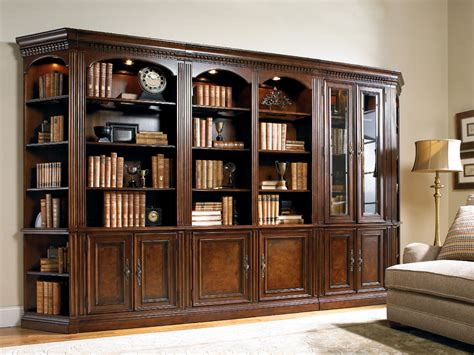 Hooker Furniture Home Office European Renaissance Ii Glass Office Bookcase With Doors
