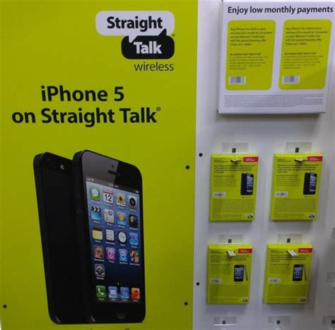walmart and talk wireless now carrying iphone 5