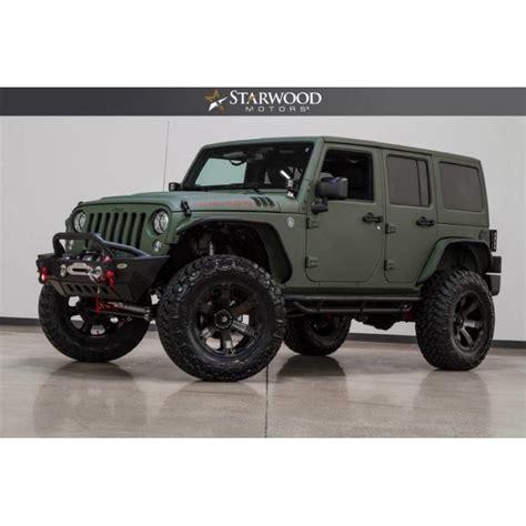 Starwood Motors Jeep Starwood Motors 2017 Jeep Wrangler Unlimited Rubicon
