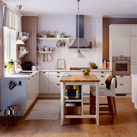 Small Ikea island breakfast bar ideas   Kitchen