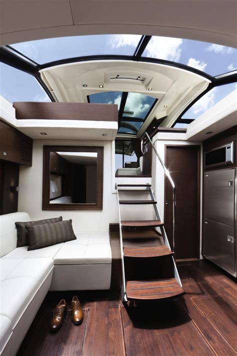 Modern Yacht Interior Design Ideas More Cabin More Cruiser Less Cave Let There Be Light 171 Www Yachtworld Www Yachtworld