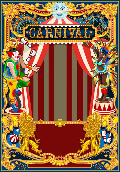 wordpress themes carnival carnival poster circus theme image illustration
