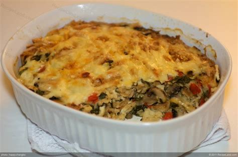 r mushrooms vegetables spinach and vegetable bread pudding recipe