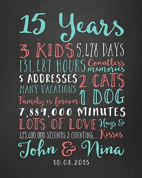 Best 25  15 year anniversary ideas on Pinterest   15 year