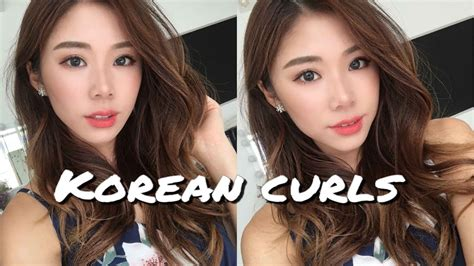 Korean Hair Clip Wave korean waves curls hairstyle mongabong