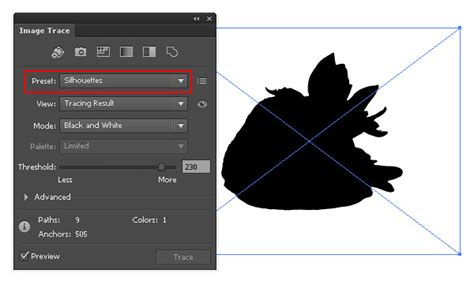 illustrator tutorial image trace quick tip how to use the new image trace in adobe