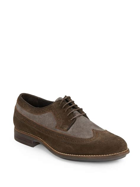 saks mens sneakers saks fifth avenue right move suede derby brogues in black