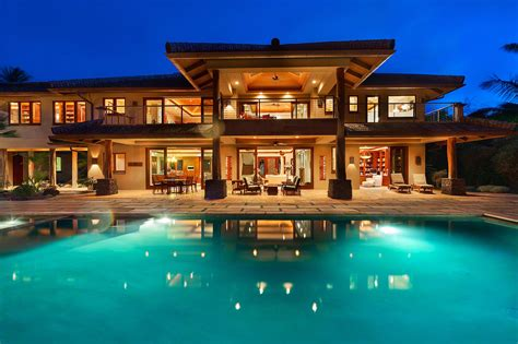 luxury homes for rent in hawaii accommodations luxury homes vacation rentals