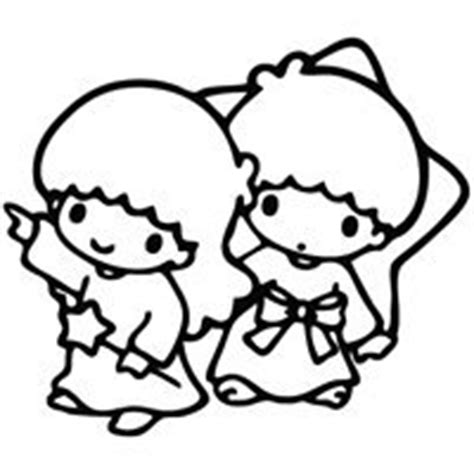 little twin stars coloring pages coloring pages
