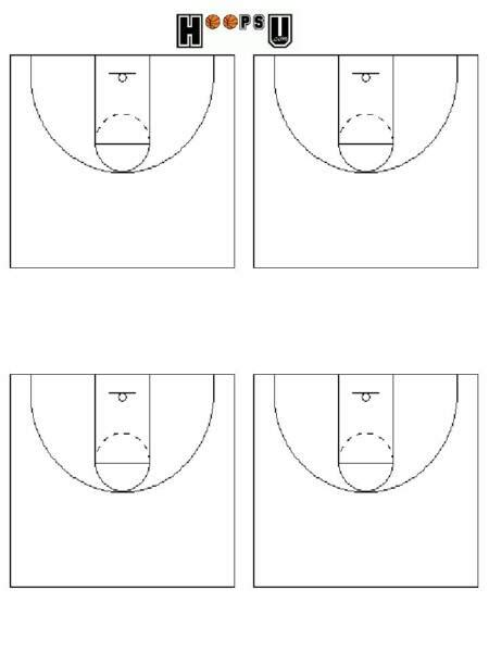 basketball court diagrams printable basketball court
