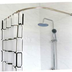 popular shower curved curtain rod buy cheap shower curved