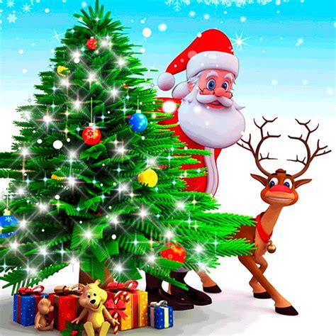 imagenes animadas de regalos de navidad hermosos paisajes navidad animada papa noel christmas