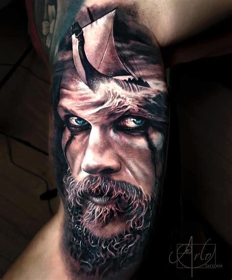 ragnar tattoo 11 7k likes 118 comments arlo dicristina arlotattoos