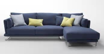 Blue Sectional Sofa Modern Blue Fabric Sectional Sofa Lucas Fabric Sectional Sofas