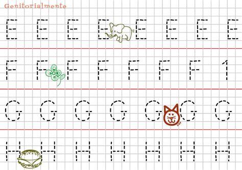 schede lettere alfabeto pregrafismo prescrittura lettere alfabeto genitorialmente