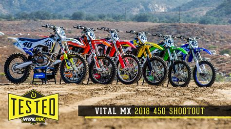 motocross 450 shootout 2018 vital mx 450 shootout motocross feature stories