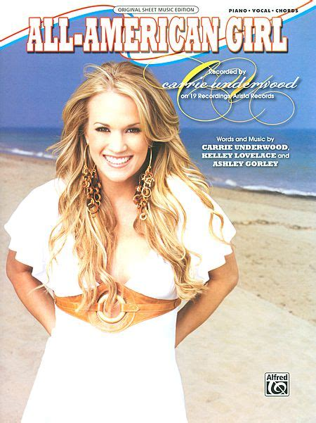 all american girl carrie underwood guitar chords sheet music carrie underwood all american girl piano