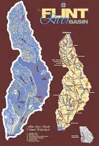 flint river map flint river map