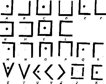 lettere particolari dell alfabeto alfabeti