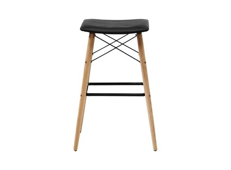 Tabouret De Bar Bois by Tabouret Bar Bois Pu Noir Fly