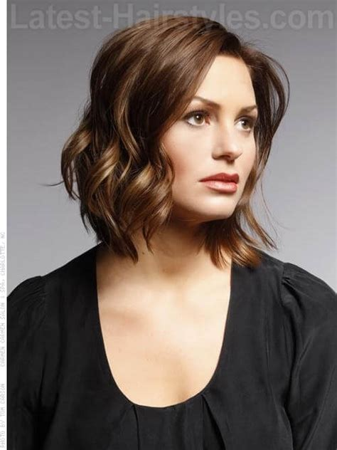 beachwave chin lenght bob chin length bob hairstyle looks outstanding with romantic
