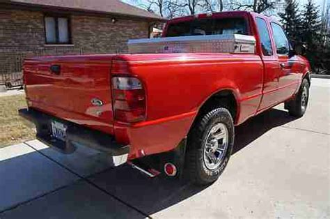 ford ranger bed liner find used 2001 ford ranger xlt super cab 4x2 red tan