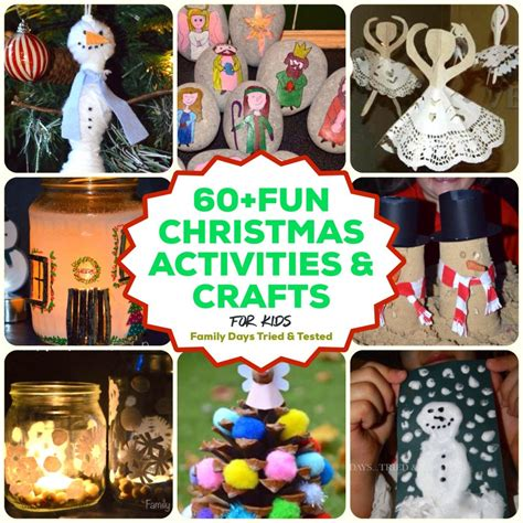 60 christmas activities for kids family days tried and