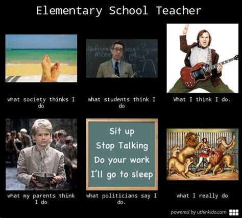 what people think a teachers summer is like vs what its elementary school teacher what people think i do what i