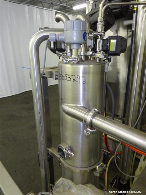 Used- Sani-Matic UltraFlow Portable CIP System, 3 Panelview Plus 600
