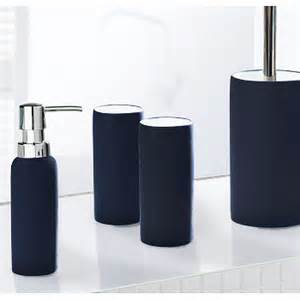 Blue Bathroom Accessories Sets Non Slip Porcelain Bathroom Accessories Matching Tumbler Soap Dispenser And Toilet Brush Set