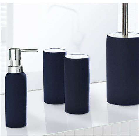 blue and grey bathroom accessories non slip porcelain bathroom accessories matching tumbler soap dispenser and toilet
