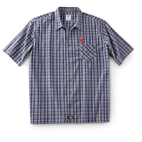 Plaid Shirt by Dickies 174 Sleeved Plaid Shirt 226494 Shirts At