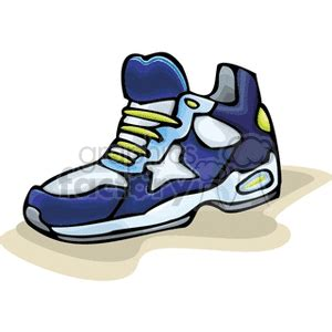 clip running shoes tennis shoes clipart 89