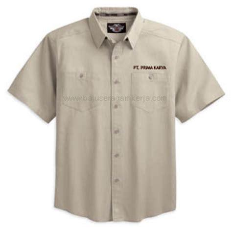 Baju Kemeja Pria Polos Lengan Pendek Kerja Kantor Katun Murah rahma fashion jas seragam dinas safari pria
