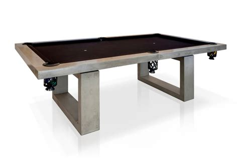 design daily dewulf concrete pool table