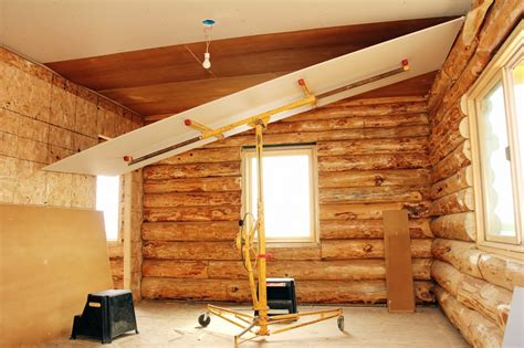 Ceiling Board Hangers by Drywall Coteau Des Prairies Lodge