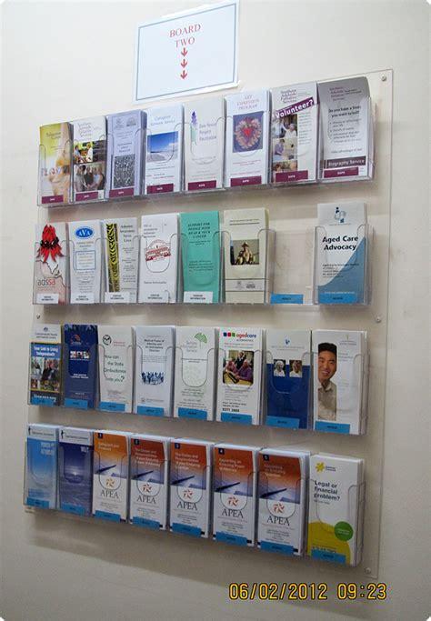 Wall Mounted Leaflet Display Racks by Brochure Sles Pics Brochure Racks Wall Mounted