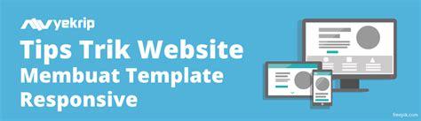 tutorial membuat website responsive cara membuat template web responsive html 5 nyekrip