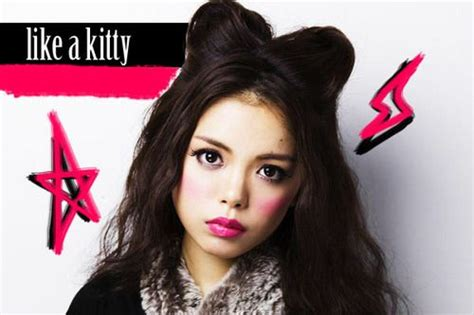 cat costume hairstyles cat s ear hairstyle tutorial costume halloween