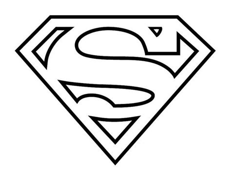 superman logo template 25 best ideas about superman logo on