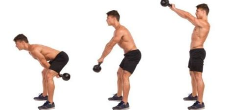 arm kettlebell swing illustrated exercise guide