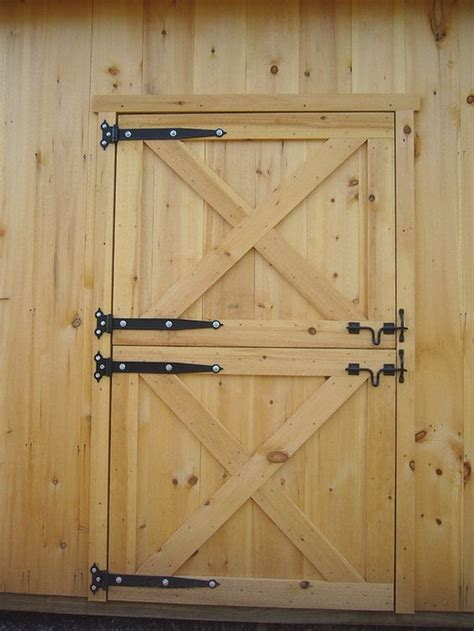 Build Your Own Dutch Barn Door Your Projects Obn Build A Barn Door Plans