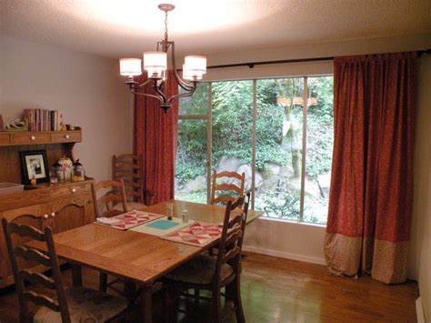 dining room curtain ideas dining room curtains to create new atmosphere in