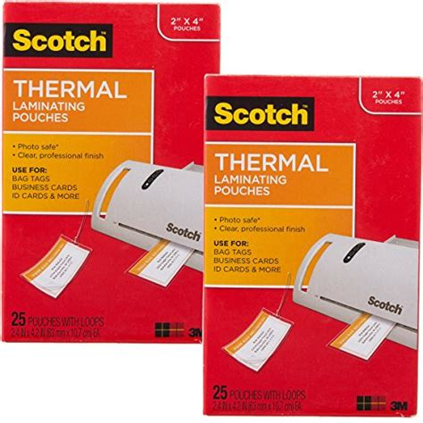 Business Card Size Thermal Laminating Pouches
