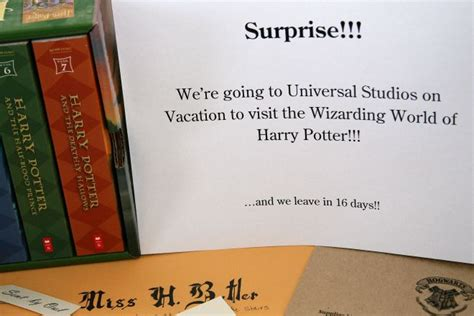 Harry Potter World Acceptance Letter Wizarding World Of Harry Potter Our Front Door Looking In