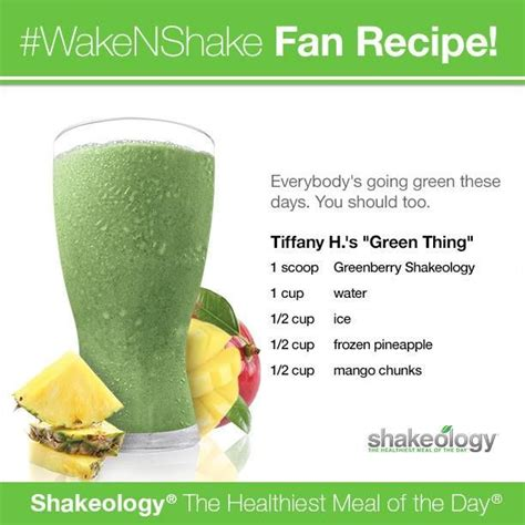 The Recipe Thing by 17 Best Images About Greenberry Shakeology Recipes On