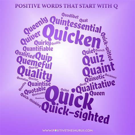 4 Letter Words That Start With Q 50 best positive adjectives positive descriptive words