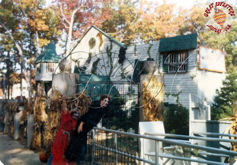 In Late Summer Of The 1978 Season Great Adventure Added A Temporary Haunted House To