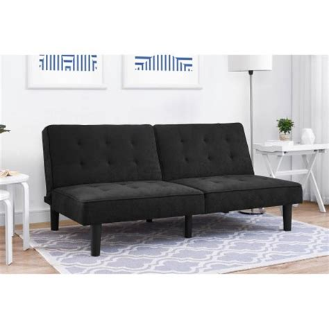mainstay futon mainstays arlo futon multiple colors 99 reg 169