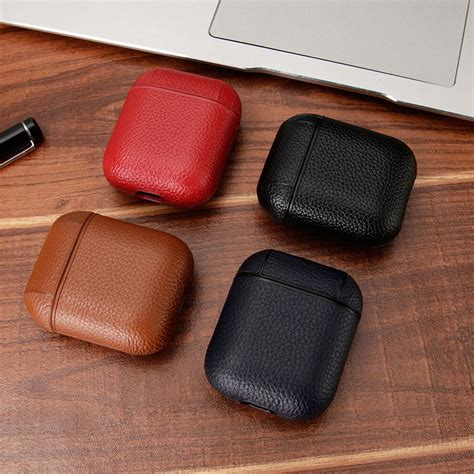 apple airpod airpods fashion luxury leather earphone